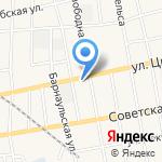 Почтовое отделение на карте Черепаново