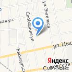 Средняя общеобразовательная школа №5 на карте Черепаново