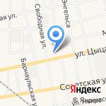 Черепановская специальная школа-интернат для обучающихся на карте Черепаново