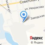 Лекур на карте Черепаново