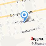 Средняя общеобразовательная школа №2 на карте Черепаново