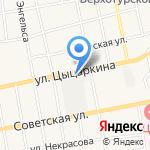 Мамин помощник на карте Черепаново