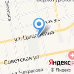 Орифлэйм Косметикс на карте Черепаново