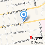 Магазин разливного пива на карте Черепаново