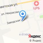 Черепановская централизованная библиотечная систем на карте Черепаново