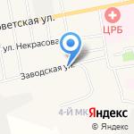 Рубин на карте Черепаново