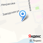 Магазин мясной продукции на карте Черепаново