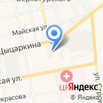 Газпром газораспределение Томск на карте Черепаново