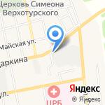 Магазин хозяйственных товаров на карте Черепаново