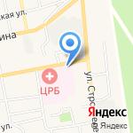 Черепановская центральная районная больница на карте Черепаново