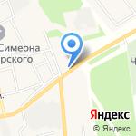 Шиномонтажная мастерская на карте Черепаново