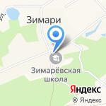 Администрация Зимаревского сельсовета на карте Барнаула