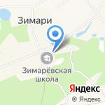 Зимаревская поселенческая библиотека на карте Барнаула
