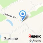 Лукошко на карте Барнаула
