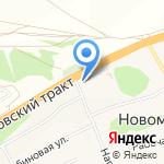 Трансойл на карте Барнаула