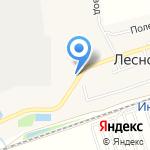 Дивный на карте Барнаула