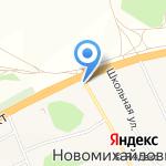 Строительная фирма на карте Барнаула