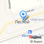 Средняя общеобразовательная школа №99 на карте Барнаула