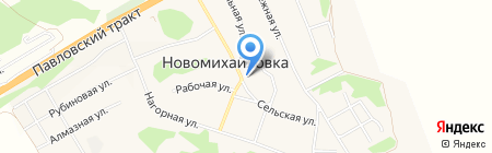 Основная общеобразовательная школа №109 на карте Барнаула