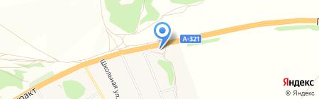 АЗС С-Нефть на карте Барнаула
