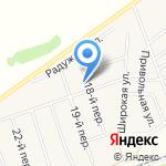 Участковый пункт полиции Отдела полиции №7 УВД по г. Барнаулу на карте Барнаула