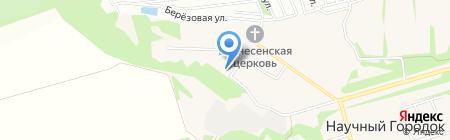 Ассоль на карте Барнаула