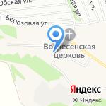 Микс на карте Барнаула