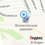 Средняя общеобразовательная школа №72 на карте Барнаула