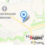 У Арки на карте Барнаула