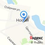 Магазин №4 на карте Барнаула