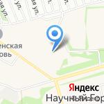 Отдельный пост Пожарной части №4 пос. Научный городок на карте Барнаула