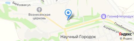 Грузоперевозки22 на карте Барнаула