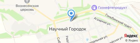 ИнженерСтрой на карте Барнаула