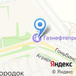 Кодинцев С.С. на карте Барнаула