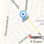 Манекен-Сити на карте Барнаула