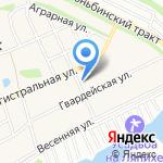 ЛесТорг на карте Барнаула
