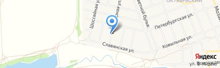 А Груз на карте Барнаула