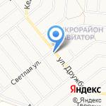Домовёнок на карте Барнаула