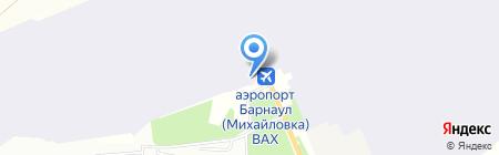 Линейный отдел полиции аэропорта г. Барнаула на карте Барнаула