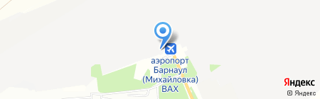 Авиационно-технический центр на карте Барнаула