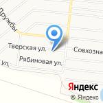 Алтайская дорожно-строительная компания на карте Барнаула