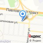 АлмазТехноСервис на карте Барнаула
