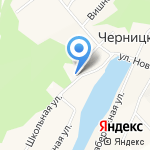 Основная общеобразовательная школа №95 на карте Барнаула