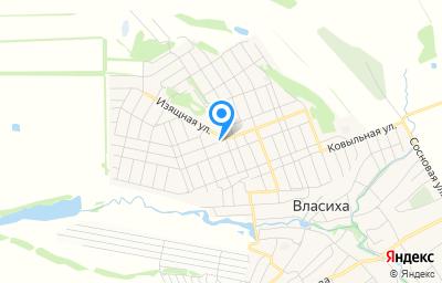 Местоположение на карте пункта техосмотра по адресу г Барнаул, с Власиха, ул Рождественская, д 57Б
