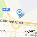 ШУШАН на карте Барнаула