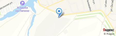 АлтайСтройЛес на карте Барнаула