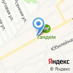 Служба эвакуации автомобилей на карте Барнаула