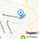Пригородное на карте Барнаула