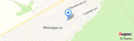 Русская логистическая служба на карте Барнаула