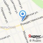 Парикмахерская на карте Барнаула